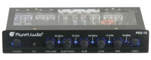 Planet Audio PEQ15 5 Band Parametric Equalizer