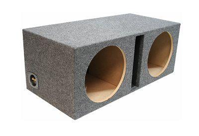 ASC Dual 12 Subwoofer Vented Sub Speaker Enclosure