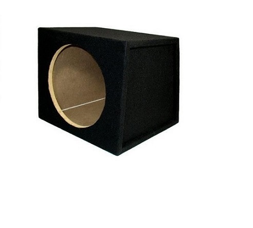 "Sycho Sound Black 8"" Single Sub Enclosure"