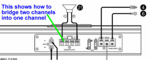 car amp wiring diagram