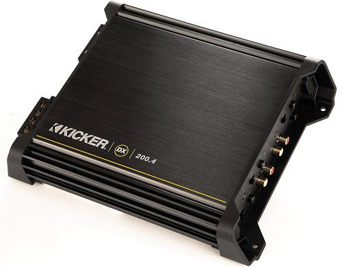 Kicker 11DX200.4 4-Channel Amp