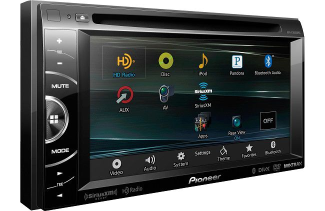 Pioneer pioneer double din touch screen head unit 2015