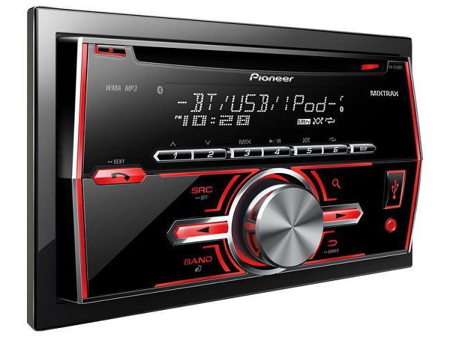 Pioneer FH-X700BT Bluetooth double din head unit