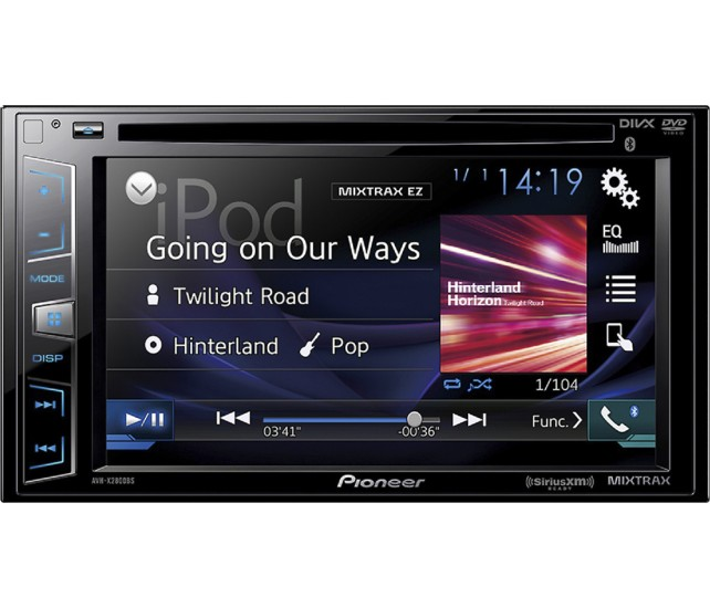 Pioneer AVH-X2800BS Double Din head unit