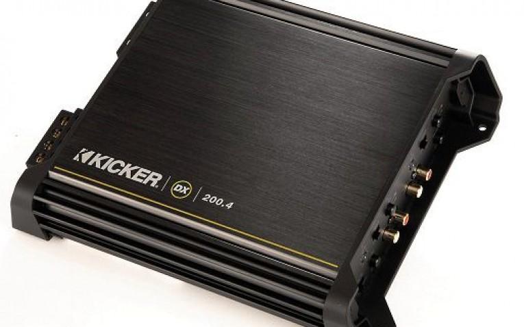 Kicker 11DX200.4 4-Channel Amp