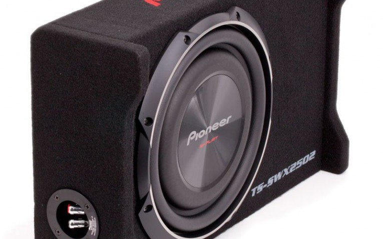 PIONEER TS-SWX2502 10-Inch Shallow-Mount Subwoofer